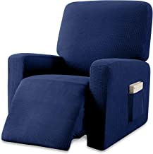 Granbest Premium Water Repellent Recliner Chair Cover High Stretch Jacquard Fabric Recliner Slipcover with Pockets (Reclin...