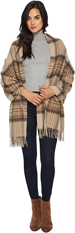 Polo Ralph Lauren - Oversized Blanket Plaid Wrap Shawl