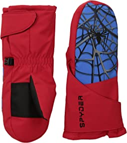 Spyder - Marvel Overweb Mini Mittens (Little Kids/Big Kids)