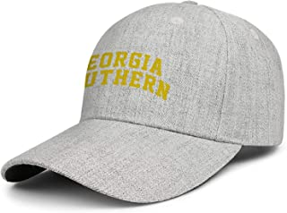 Dad Hats Curved Flag and Map of Georgia Snapback Athletic Cap Unisex