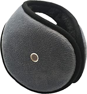 Trisens Winter Ear Muffs Unisex Classic Earmuffs with Earholes for Answer Phone Winter Accessory Outdoor Ear Warmer