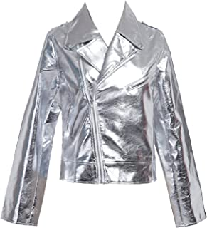372aade99 Amazon.com: Silvers - Leather & Faux Leather / Coats, Jackets ...