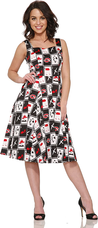 Hearts & pinks Women's Dueces Wild Swing Dress
