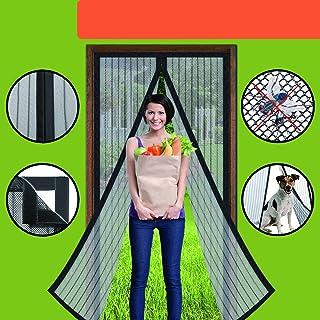 Homearda Magnetic Screen Door – Full Frame, Fits Door Up To 34×82 Inch