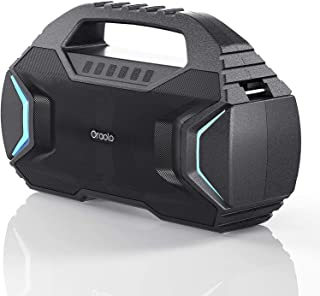 $79 » Sponsored Ad - Bluetooth Speaker,Oraolo M100 Portable Bluetooth Speaker with 40W Loud Stereo,Sound Rich Bass 10000mAh Batt...