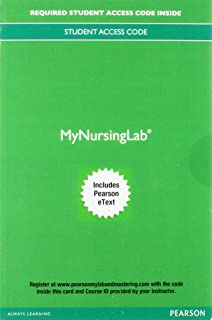 MyLab Nursing with Pearson eText -- Standalone Access Card -- for Olds' Maternal-Newborn Nursing & Women's Health Across the Lifespan (11th Edition)