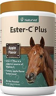 NaturVet – Ester-C Plus Horse Powder – 1lb 8oz – Superior Source of Vitamin C – Helps Protect Against Free Radicals & Impr...