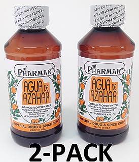Agua De Azahar 4 Oz. Orange Flower-Blossom Water 2-PACK