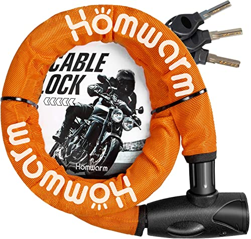 Homwarm バイクロック チェーンロック