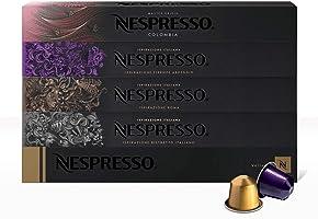 Nespresso, Café Best Seller, Paquete de 50 cápsulas de Sistema Original (Incluye 10 cápsulas de cada variedad)