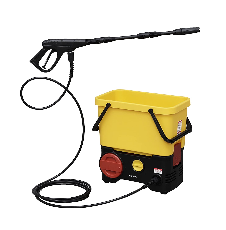 聴覚道徳の和らげるアイリスオーヤマ 高圧洗浄機 タンク式 充電タイプ SDT-L01
