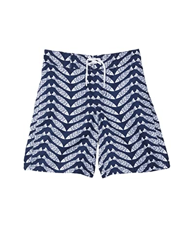 Janie and Jack Printed Boardshorts (Toddler/Little Kids/Big Kids) Boy