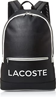 Lacoste Men's Ultimum Wording Backpack, Without Color, ONE