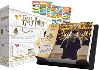 Harry Potter 2020 Calendar, Box Edition Set - Deluxe 2020 Harry Potter Day-at-a-Time Box Calendar with Over 100 Calendar Stickers (Harry Potter Gifts, Office Supplies)