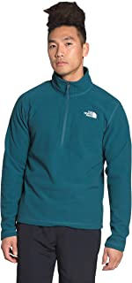 The North Face Men's Textured Cap Rock Quarter Zip Pullover Sweatshirt