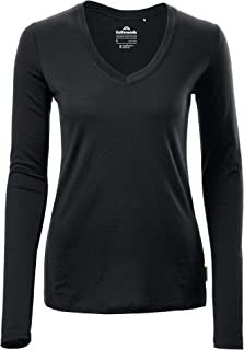 Kathmandu Core Spun Lighteweight Long Sleeve Travel V Neck Womens Top Women's