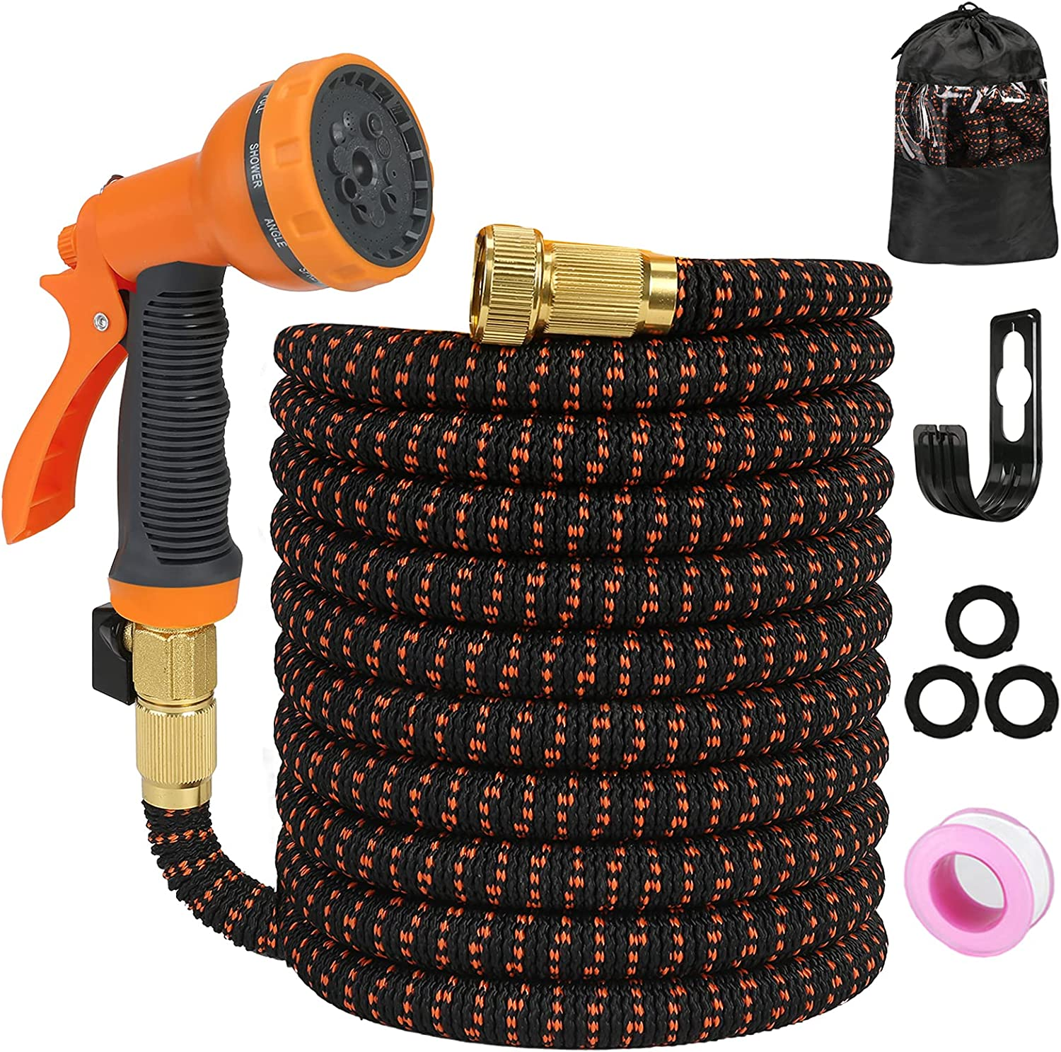 Garden Sale Special Price Hose Pipe Expandable 100FT 10 Spray New mail order With Function Nozzle