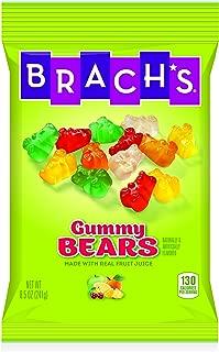 Brach's Wild N Fruity Gummy Bears, 8.5 Ounce Bag (Pack of 12)