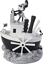 Precious Moments 203701 Disney Steamboat Willie Mickey Mouse Resin Musical