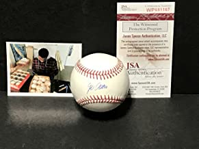Jo Adell Los Angeles Angels Autographed Signed Official Major League Baseball JSA WITNESS COA