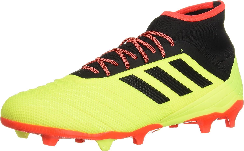 Adidas Men's Protator 18.2 Firm Ground Soccer schuhe, Solar Gelb schwarz Solar rot, 11.5 M US B077XDCW7R  Schön