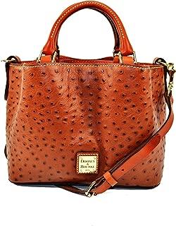 Dooney & Bourke Ostrich Mini Barlow Top Handle Bag