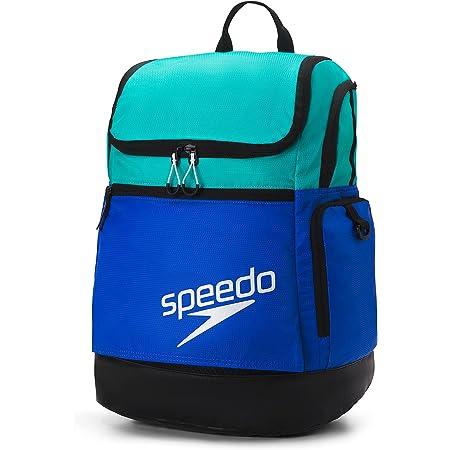 Speedo Unisex-Erwachsene Large Teamster Backpack 35-Liter Rucksack, Blau/Keramik 2.0, Einheitsgröße