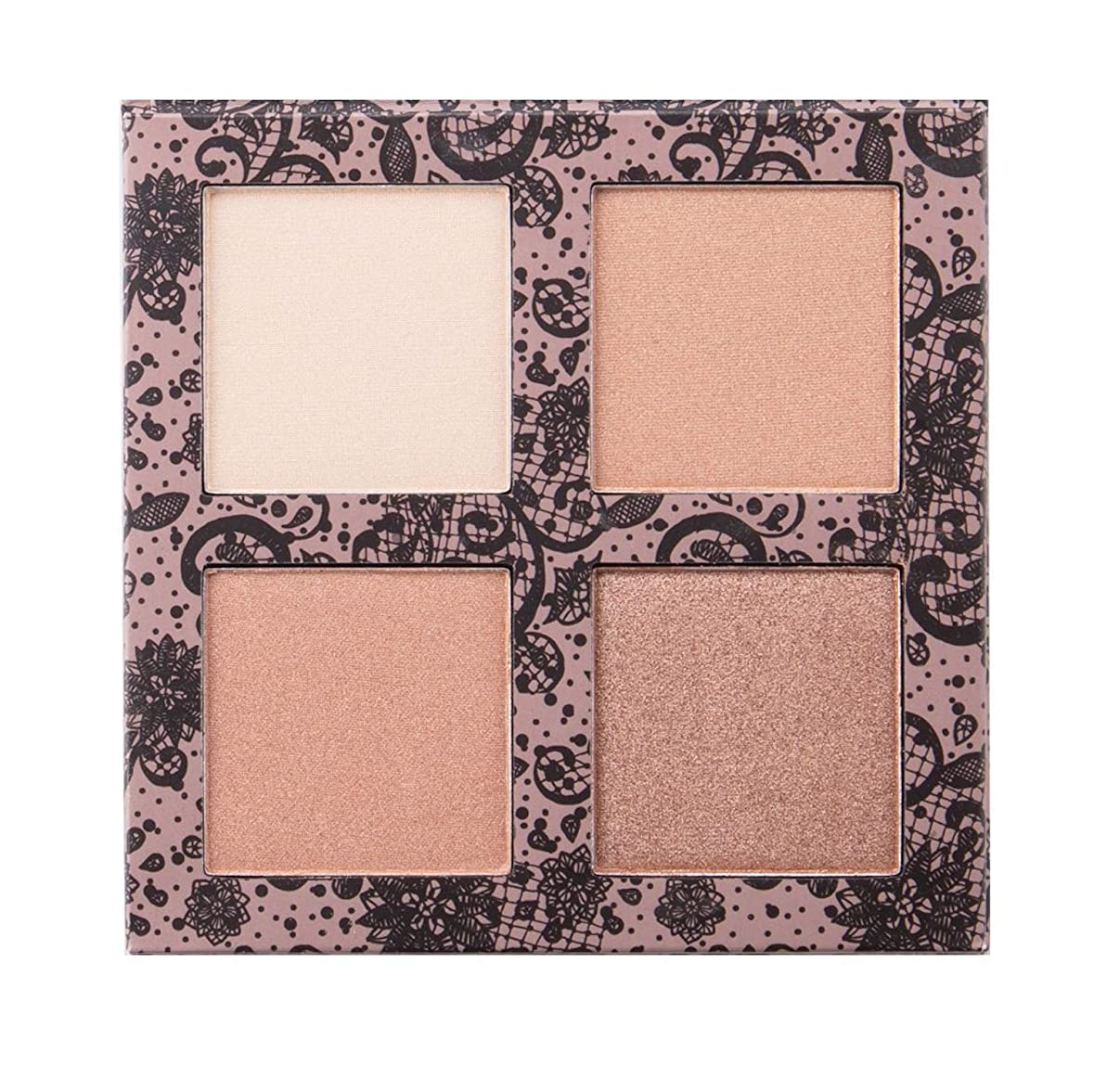 レールうなるアイザックBEAUTY CREATIONS Scandalous Glow Highlight Palette (並行輸入品)