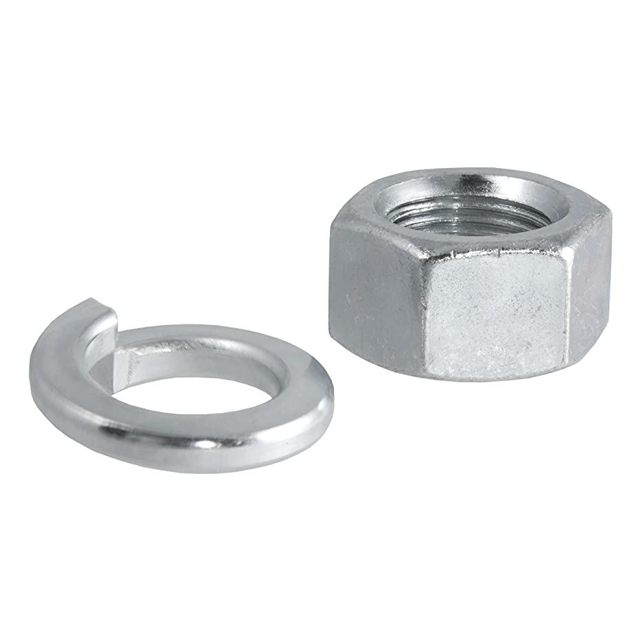 CURT 40103 Replacement Trailer Hitch Ball Nut and Washer for 3/4-Inch Trailer Ball Shank
