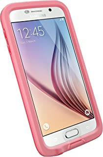 LifeProof FRĒ SERIES Waterproof Case for Samsung Galaxy S6 - Retail Packaging - CUTBACK CORAL (CORAL/CANDY PINK)