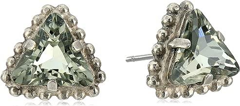 Sorrelli Embellished Triangle Post Stud Earrings