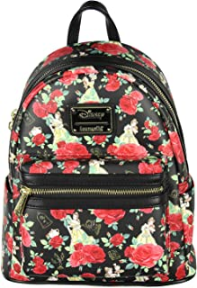 Disney Beauty And The Beast Belle Roses Mini Backpack