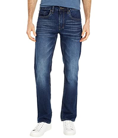 Buffalo David Bitton Six Straight Jean in Whiskered and Sanded (Whiskered and Sanded) Men