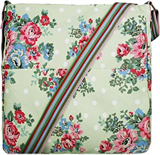 miss lulu canvas messenger bag