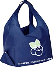 Blueberry Pet Lightweight Eco-Friendly Reusable Shopping Bag, Washable, Pet Parent Must-Have Durable Foldable Grocery Tote Bag and Carryall