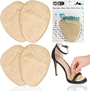 Metatarsal Pads | Metatarsal Pads for Women | Ball of Foot Cushions (2 Pairs Foot Pads)..