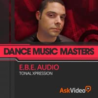 Featuring our industry specialist trainer, Lucas Rodenbush, aka E.B.E. Audio ! This course on Dance Music Masters will show you everything you need to know ! With 20 videos, and 1 hour and 46 minutes of valuable reference material ! Including a fully...