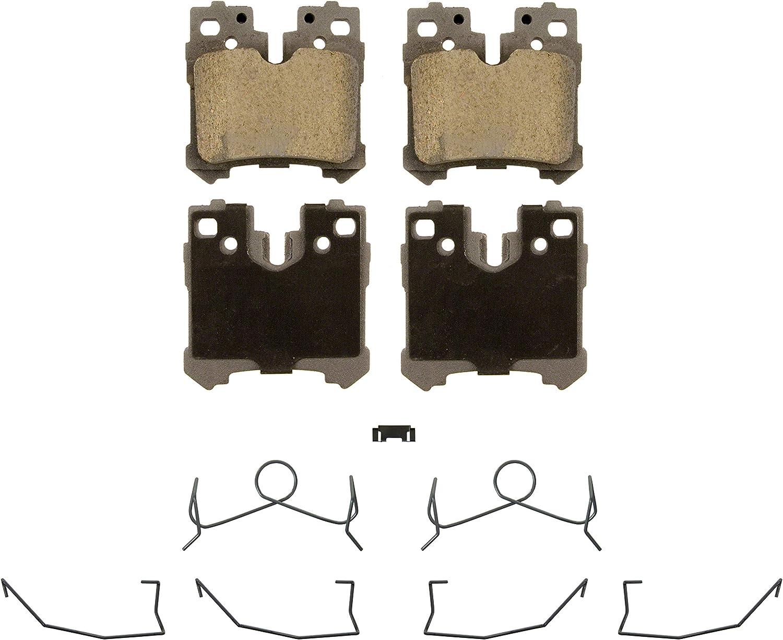 Max 48% OFF Wagner ThermoQuiet QC1283 Ceramic Disc Set Pad Brake Max 82% OFF