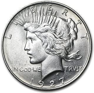 1927 d peace dollar