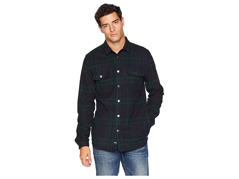 Globe Clifton Long Sleeve Shirt (Bottle Green) Men