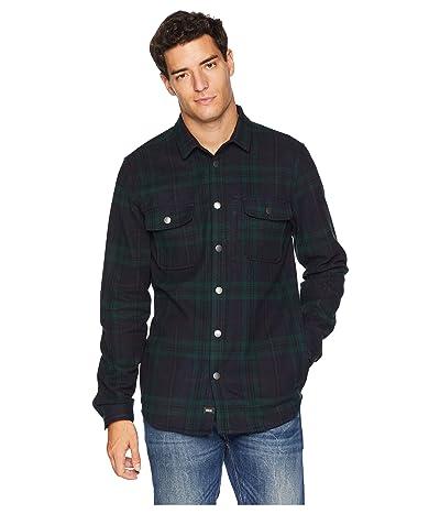 Globe Clifton Long Sleeve Shirt (Bottle Green) Men