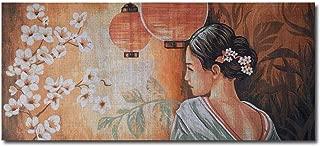 Hudemas Needlepoint Kit Geisha 30x12.5in 73x32cm Printed Canvas 395