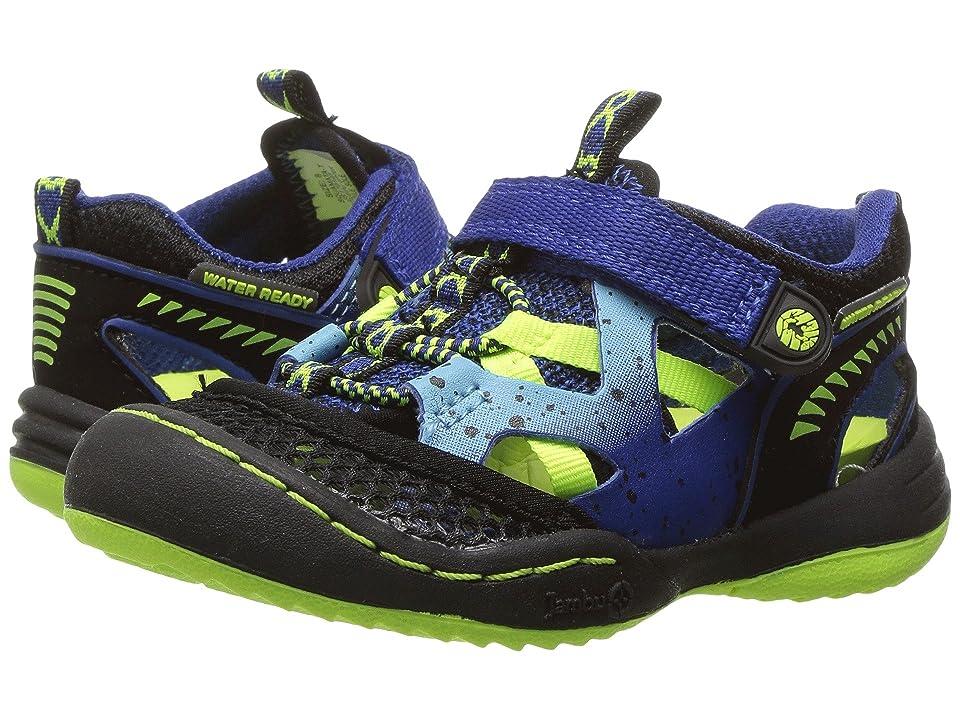 Jambu Kids Squamata (Toddler) (Blue/Neon) Boys Shoes