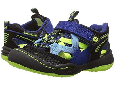 Jambu Kids Squamata (Toddler) (Blue/Neon) Boys Shoes