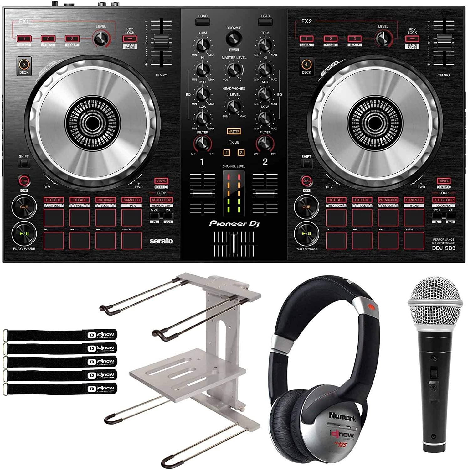 Pioneer DDJ-SB3 Serato DJ Outlet SALE Built In Mixer Beauty products Software w L Controller