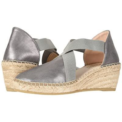 David Tate Monaco (Pewter Soft Calf) Women