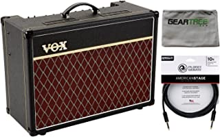 Vox AC15C1X AC15 Custom Series Guitar Combo Amp (with Blue Alnico Speaker) w/Cl