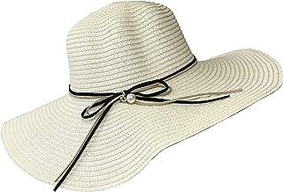 قبعات شمس كبيرة واسعة للفتيات والنساء للشاطئ في الهواء الطلق أنيقة من الأشعة فوق البنفسجية للحماية من أشعة الشمس الصيفية ذ...