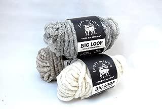 Big Loop Mini Merino Wool - Light Heather Grey - 10 oz