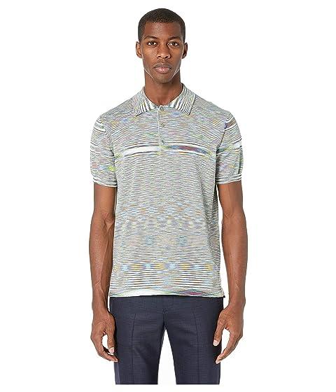 Missoni Fiammato Cotton Polo Sweater
